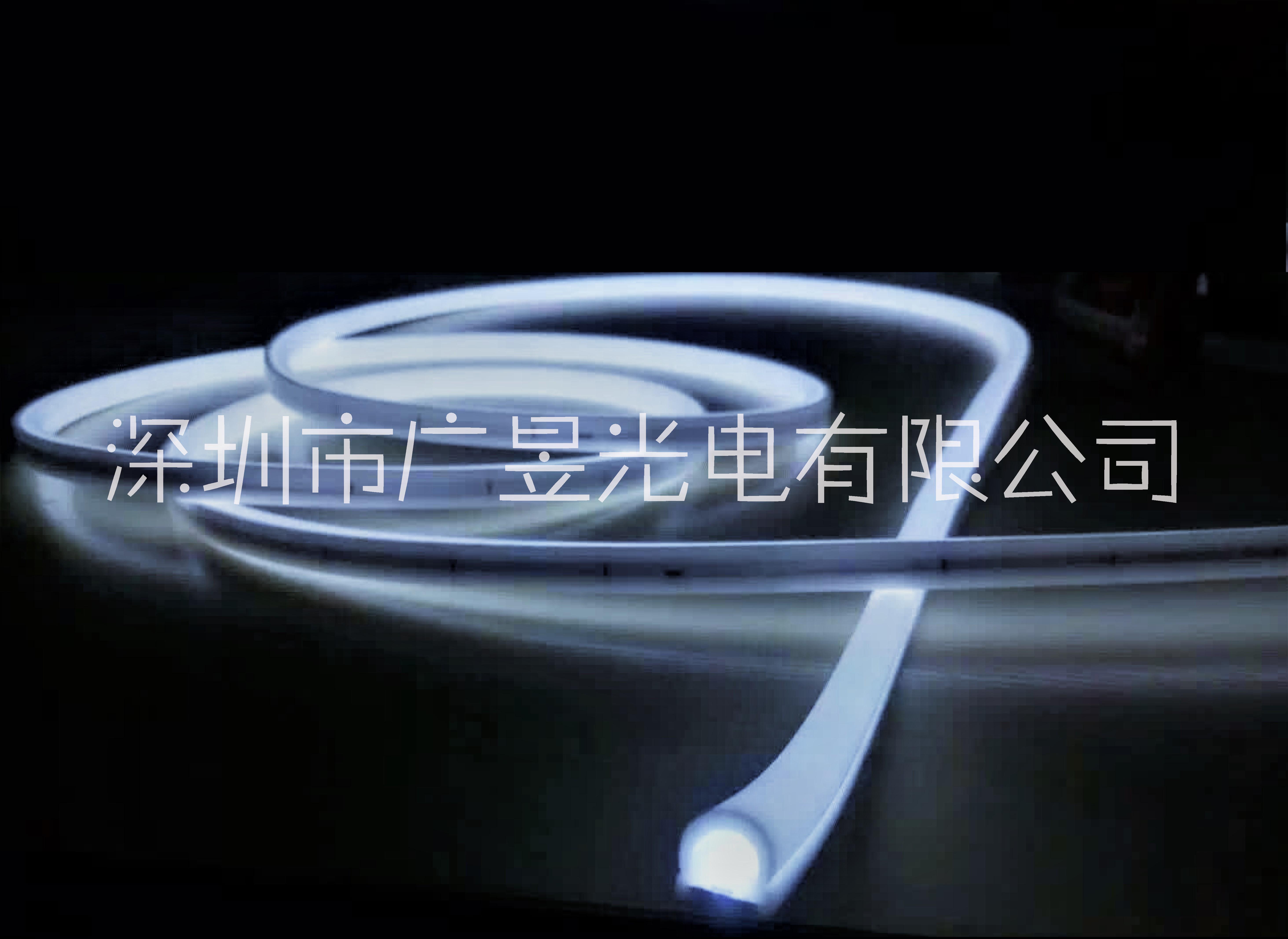 LED硅胶霓虹数码软灯带半圆270度可见光正发光1313