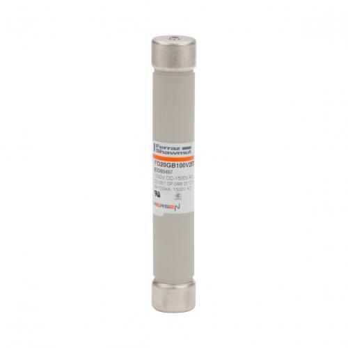 海外原厂直销Mersen罗兰法雷FD20GB100V25T熔断器20*127mm 1000V