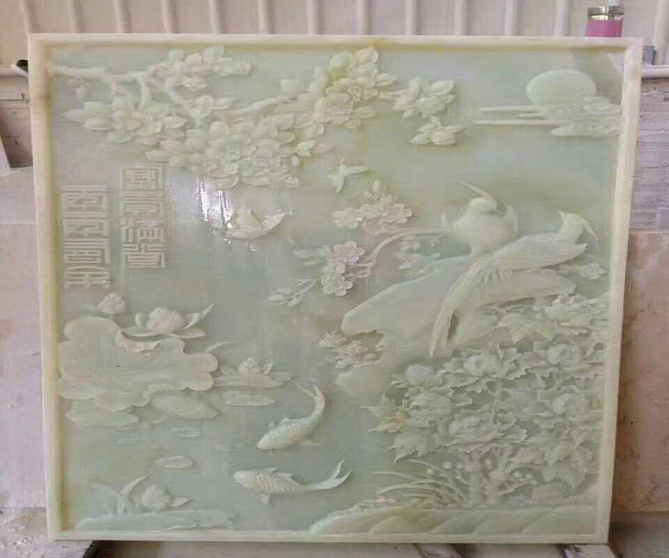 石材雕刻机厂家 石材背景墙雕刻机