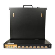瑞南19寸屏1 4 8 16口高性价比KVM切换器 19寸屏KVM切换器 19寸屏多口KVM切换器