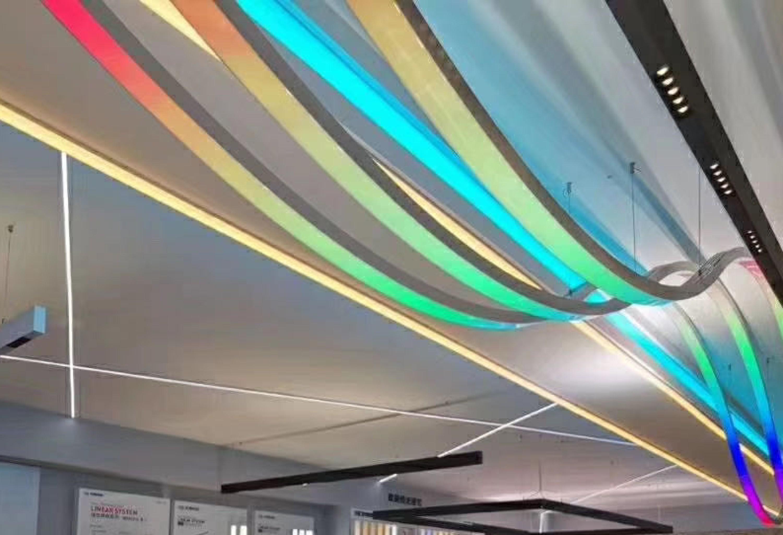 LED超级双色硅胶霓虹数码光源5025正发光