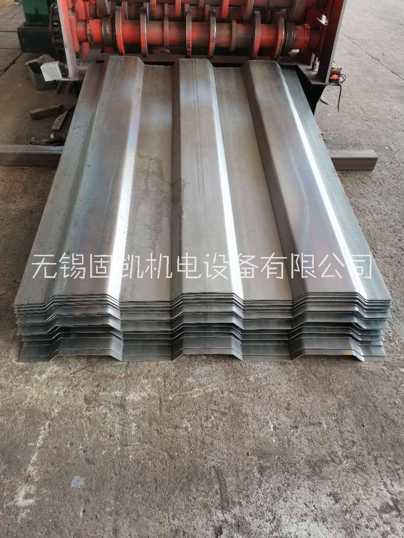 供应扬州6mm高强度污水处理瓦楞板钢板 无锡固凯机电