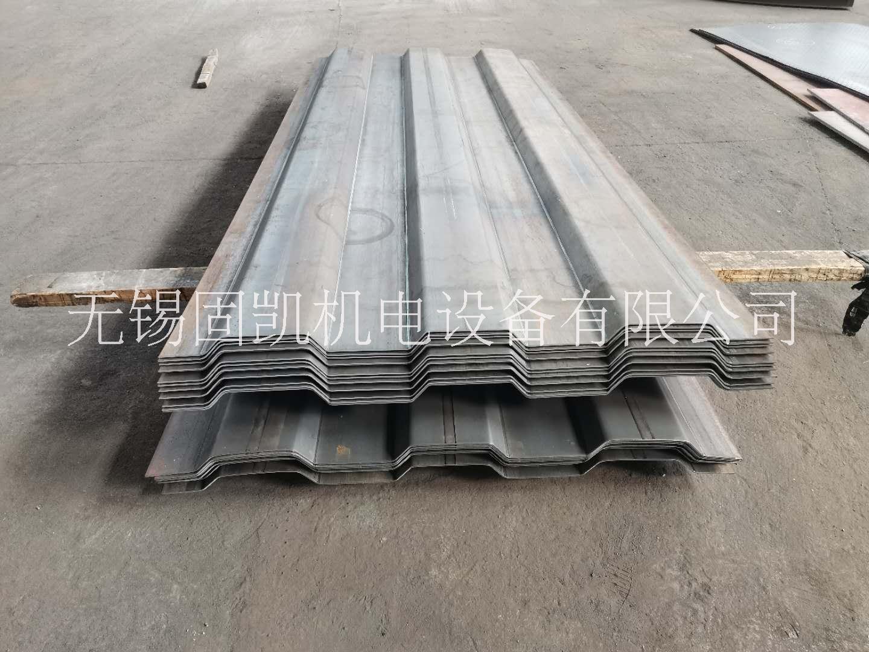 江苏常州5mm高强度除臭塔瓦楞板钢板批发零售 长度可定制 无锡固凯机电供应 常州5mm瓦楞板钢板