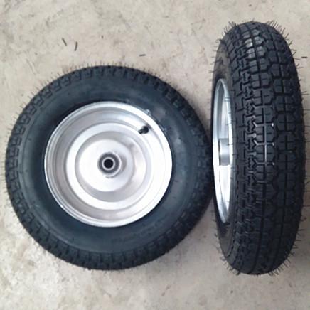 山东轮胎厂家350-8真空胎 机械车轮子 大花充气轮