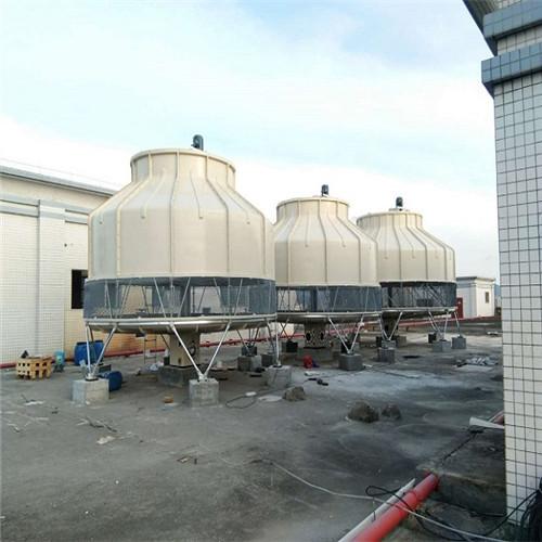 湖北圆形冷却塔厂家供应,武汉10T水循环冷却塔、散热塔价格免费咨询