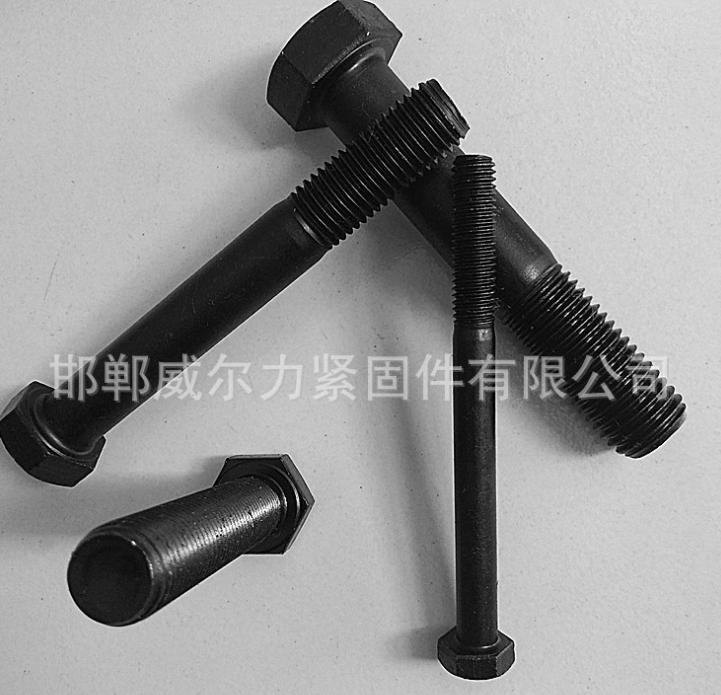 厂家批发高强度螺栓 M10*20-M10*150 8.8级高强度外六角螺栓