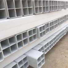 乌海 赤峰厂供应多孔PVC格栅管 四孔栅格管电力通讯用方管规格齐全量大从优图片