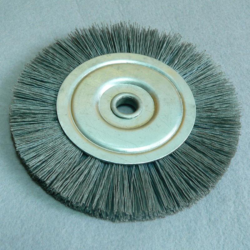 磨料丝轮 多种材料各规格圆盘刷 打磨刷厂家定制