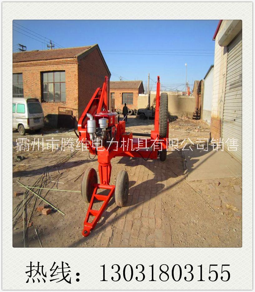 大型电缆线盘拖车销售