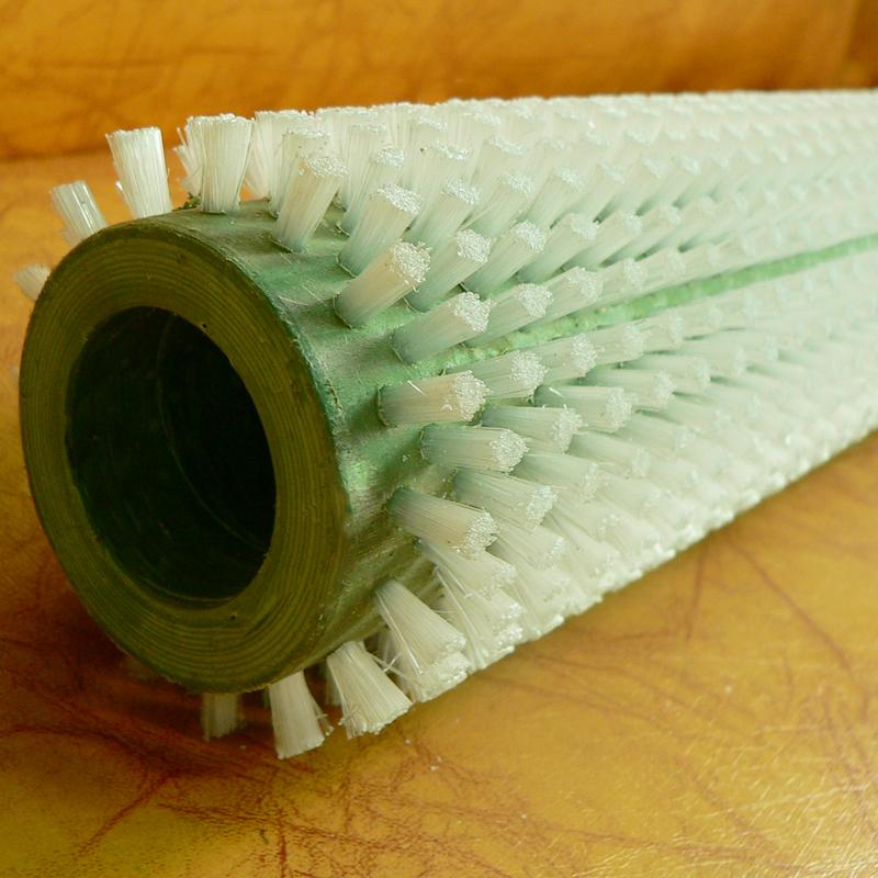 尼龙毛刷辊 各类磨料丝刷辊批发 大型毛刷辊定制