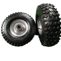 山东厂家350-4三轮车充气轮子 货仓车轮子 拖车轮 三轮车轮子