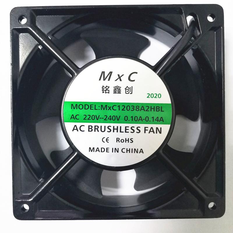 12038交流风扇 220V风扇 AC轴流风扇 质保三年 噪音低