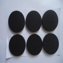 黑色自粘胶网格防滑脚垫,耐磨防滑网格硅胶垫 网格硅胶脚 橡胶 防震橡胶垫图片