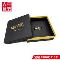 电子产品礼盒 黑电子产品礼盒 黑色烫金天地盒 无人机包装 日用品包装盒 电子产品礼盒 黑色天地盖包装盒