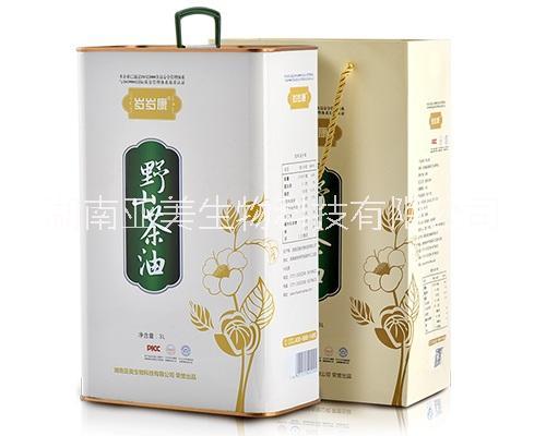 岁岁康山茶油3L单瓶装