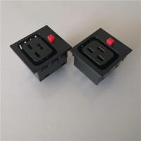 C19防脱落插座.C19防护门插座,IEC电源母座,BS-C19电源插座