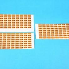 无胶静电膜标签定做 PVC透明商标  厂家直供可定制图片