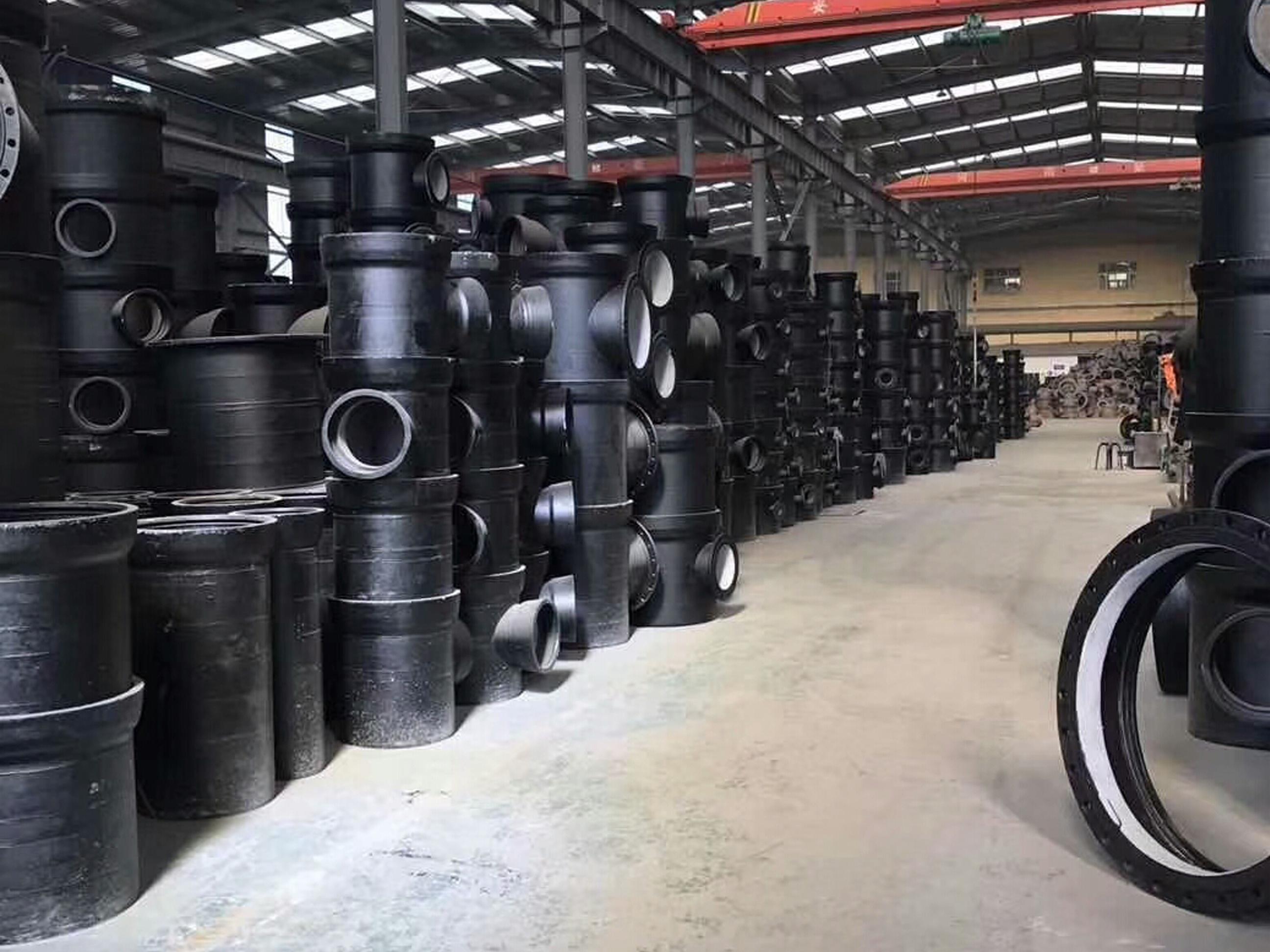 河北铸铁泄水管,直排式铸铁管,横排式铸铁管批发厂家直营