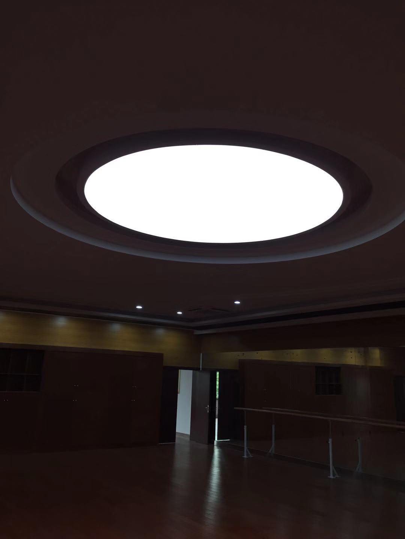 圆型灯箱  软膜造型灯箱   软膜天花