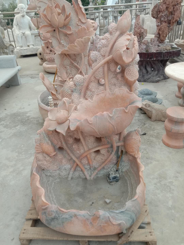石雕荷花厂家