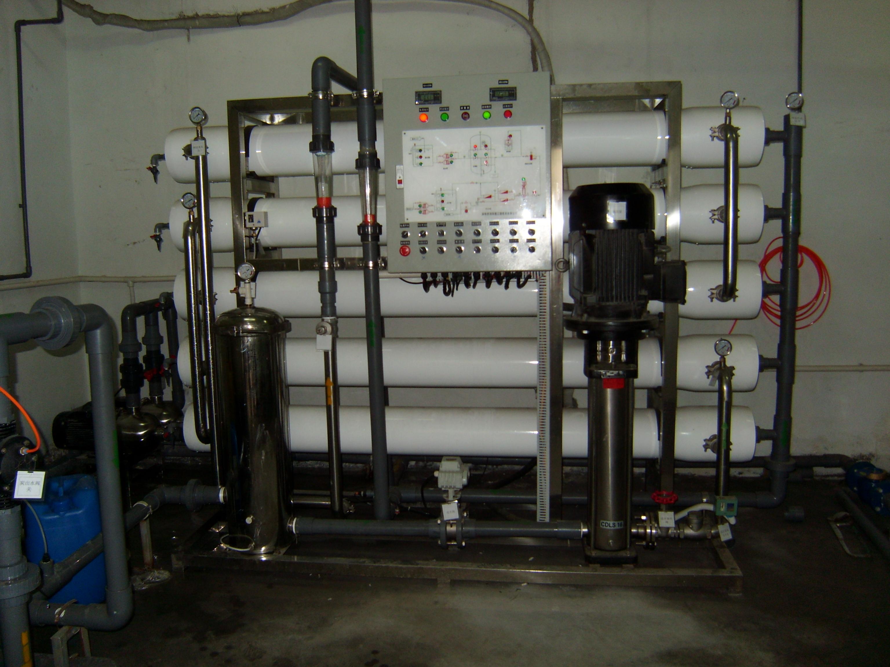 反渗透纯水设备工业用清楚产品用纯水处理设备全自动