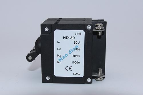 小型HD-30 3P螺帽电磁断路器厂家直销 优质螺帽电磁断路器供应商