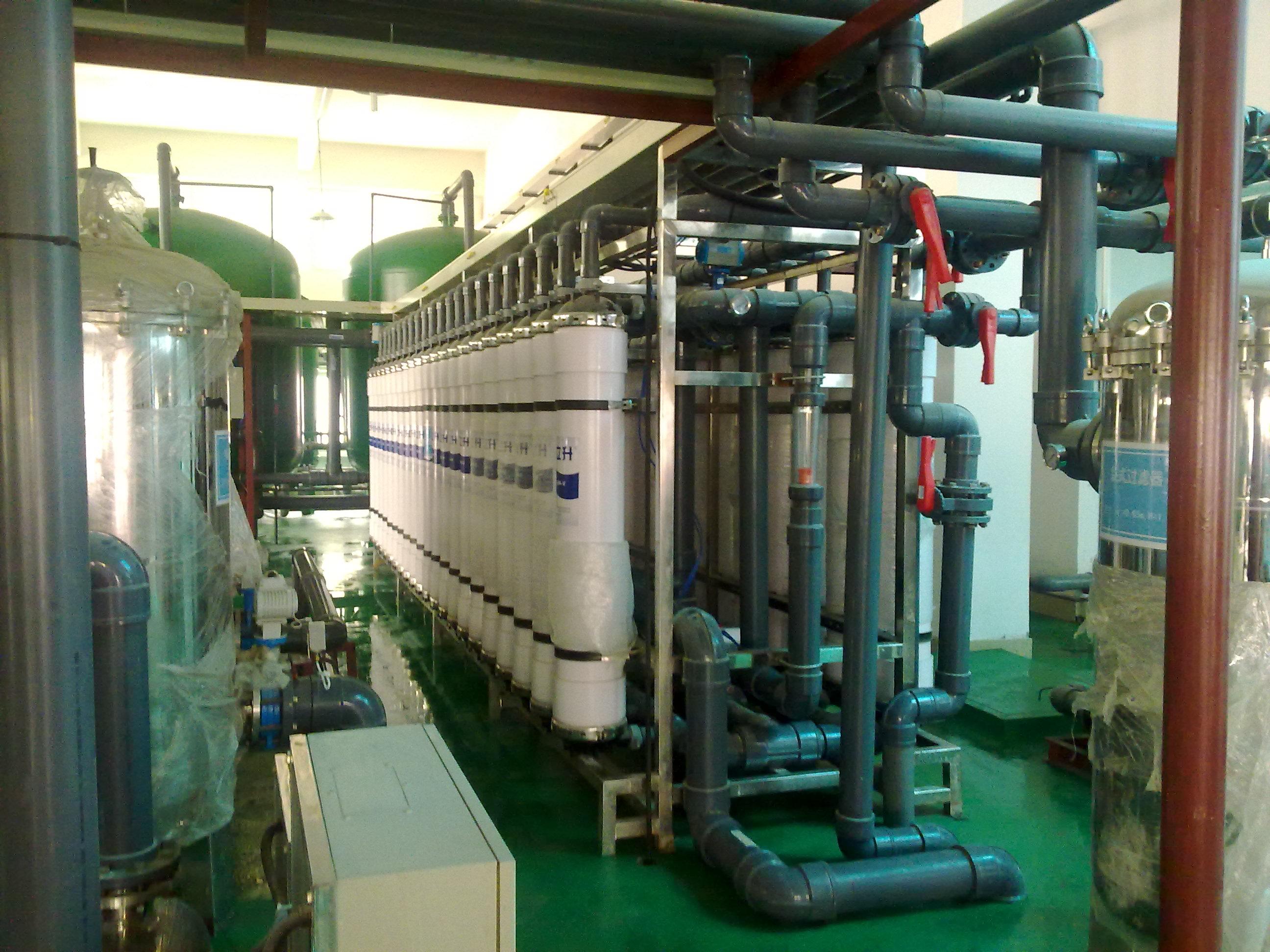 大型超滤净水系统10吨工业净水设备超滤中水回用系统废水处理