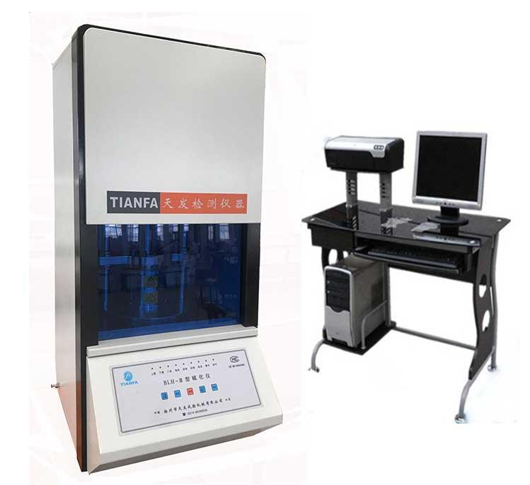 供应橡胶硫化仪 BLH-III型 无转子硫化仪批发