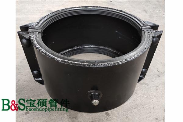 生产定做PE钢丝网复合管哈夫节 抢修节 堵漏器
