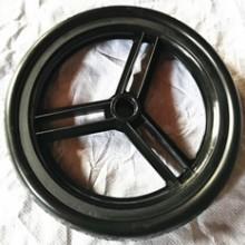 萱德 12寸EVA实心轮子 童车轮 健腹轮 儿童推车轮 山东厂家实心轮批发