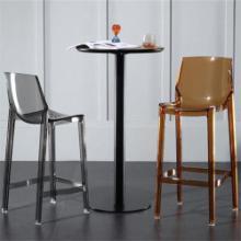 北欧透明吧台椅吧椅高脚凳亚克力高脚椅图片