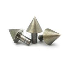 精品45/60/90度角伞形金刚石磨头 锥形倒角工具 硬质合金玻璃陶瓷石材扩孔图片