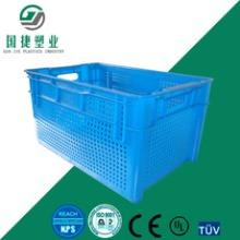厂家直销蔬菜果蔬运输网格周转箱-果蔬运输箱哪家好图片