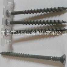 链带螺丝 平头割尾链带螺丝 墙板钉链带螺钉 夹耳钻尾链带螺丝图片