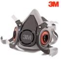 3M 6200中号防尘毒半面具图片