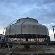 河南三门峡圆形冷却塔玻璃钢圆形逆流低噪音机械通风式冷却塔批发