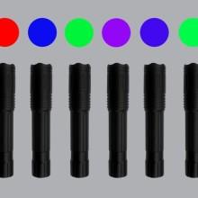 HXGY-XI八波段LED光源(12W)   八波段光源图片