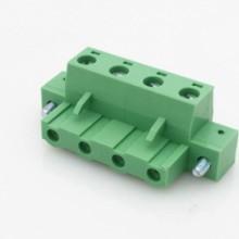 7.62mm防震动带耳朵插拔式接线端子2EDGKM-7.5/7.62图片