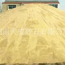 大量供应优质粗砂、道路施工砂石图片