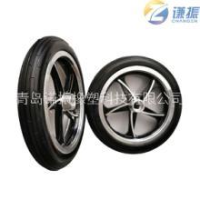 12寸铝合金pu发泡轮轮 键槽轮子 电动滑板车轮 代步车轮 机器人车轮 欢迎询问  12寸铝合金pu发泡轮批发
