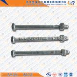 河北邯郸永年 厂家直销外贸出口型热打热镀锌美制英制5/8四方螺栓