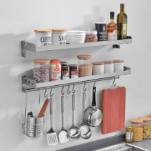 厨房置物架定制 碗碟架 碗盘沥水架 双层碗架 洗碗架沥碗架餐具架定制图片