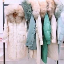 大山冬季新款品牌折扣女装尾货批发,品牌折扣女装直播货源图片