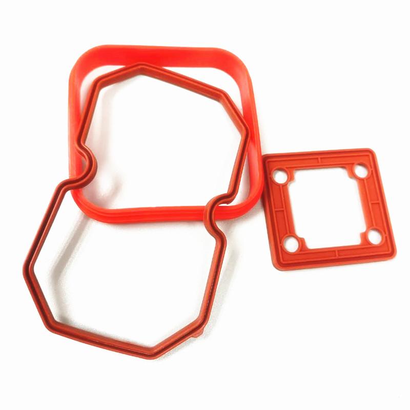 汽车硅橡胶配件防水密封胶圈订制销售