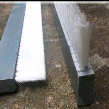 厂家直销铝合金条刷密封防尘条刷 尼龙丝磨料丝条刷 规格多可定制图片