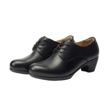 行政休闲女鞋时装鞋头层牛皮单皮鞋单位配发鞋工作鞋制式皮鞋