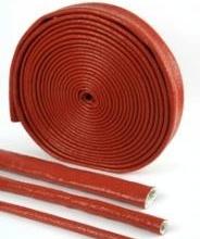 硅橡胶玻璃纤维耐火套管佰特厂家直销多种规格可定制图片