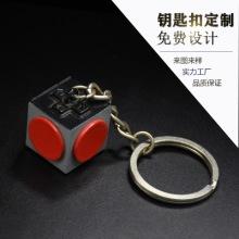 拳套铅锡合金钥匙扣挂件定制广告活动促销商务钥匙圈纪念礼品订做图片
