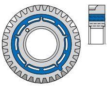 SIMRIT 减震元件 圆柱形减振支座现货供应批发报价热线图片