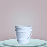 4L塑料桶/4升中式桶/1到15升油墨/涂料塑料桶生产型厂家直销 4L塑料桶/4升中式圆桶/美式桶